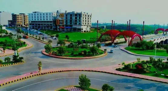 30×30 Mini Commercial plot for sale in Gulberg Residencia Block F paid