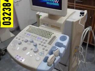 Hitachi Eub-7000(LCD) Japanese color Doppler Ultrasound Machine 2 prob