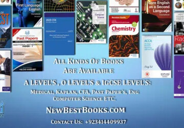 All kinds of Books are available